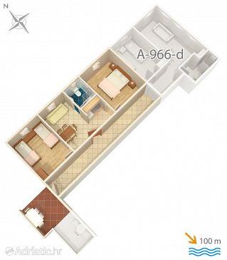 Apartment A-966-a - Apartments Grebaštica (Šibenik) - 966
