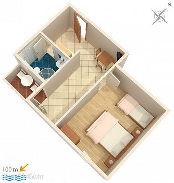 Apartment A-966-c - Apartments Grebaštica (Šibenik) - 966