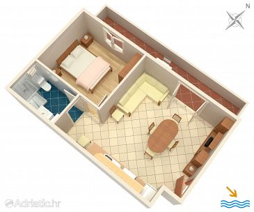 Apartment A-9673-a - Apartments Basina (Hvar) - 9673