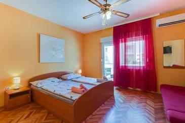 Mali Lošinj, Bedroom u smještaju tipa room, WIFI.