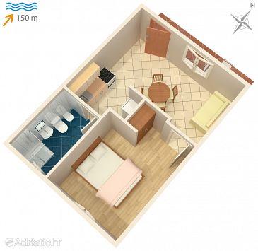 Apartment A-974-c - Apartments Seget Vranjica (Trogir) - 974