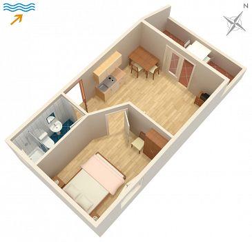 Apartment A-994-c - Apartments and Rooms Zaklopatica (Lastovo) - 994