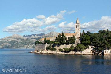 Elafiti v regiji Južna Dalmacija (Hrvatska)