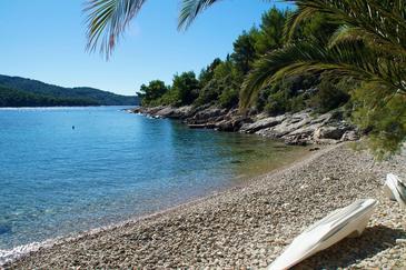 Uvala Tudorovica na otoku Korčula (Južna Dalmacija)