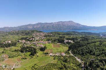 Žrnovo on the island Korčula (Južna Dalmacija)