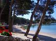 Beach  in Drage, Biograd.