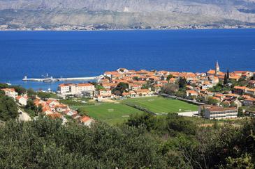 Postira on the island Brač (Srednja Dalmacija)
