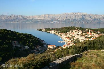 Povlja on the island Brač (Srednja Dalmacija)