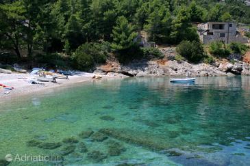 Uvala Bristova na otoku Hvar (Srednja Dalmacija)