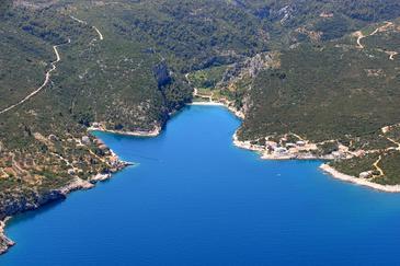 Uvala Pokrivenik na otoku Hvar (Srednja Dalmacija)