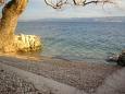 Beach  in Zavode, Omiš.