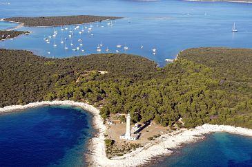 Világítótorony Veli Rat - Dugi otok (Észak-Dalmácia)